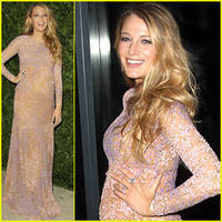 Blake Lively Makes Her First Red Carpet Appearance Since Baby Announcement